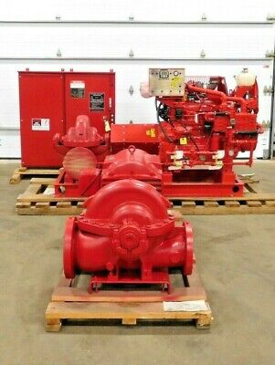 Mo-3366 New Clarke Firetrol Fire Suppression System. 200 Hp. 2500 Gpm.
