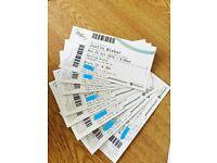 Justin Bieber seated birmingham tickets