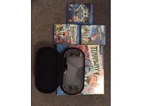 PS VITA OLED (WIFI/3G) + 16 GB SD + Games + Case ++