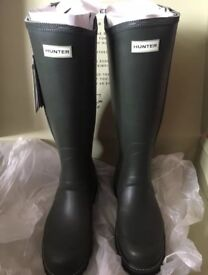 Men's Field Hunter Neoprene Zip Up Wellingtons Size 10