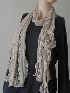Various-Color-Woemn-Lace-Flower-Scarves-Wraps