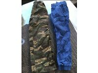 Age 7 cargo pants bundle