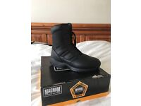 New Magnum boots size 10