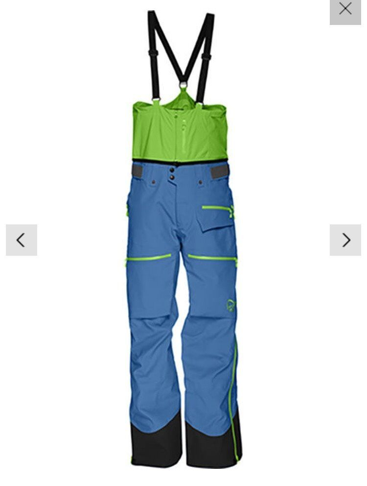 Norrona Lofoten Gore Tex Pro Pants - Denimite - Small - New for 16/17 Season.