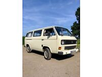 Awesome VW Camper van - Volkswagen Transporter T25. 1.9 Petrol. Ready to go today!