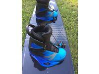 Ronix Kinetik wakeboard kitesurf bindings boots size 9 uk9 us10