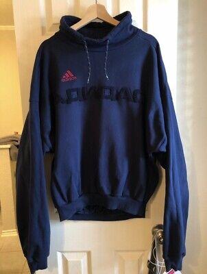GOSHA RUBCHINSKIY x ADIDAS Authentic Heavyweight Navy Sweatshirt (Adidas Heavyweight Sweatshirt)