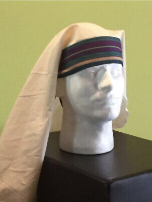 Adult Nativity Costume Accessory Pageant Arab Pharaoh BIBLICAL Mantle Head Piece