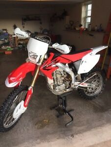 CRF 450X  with timbersled ST 120