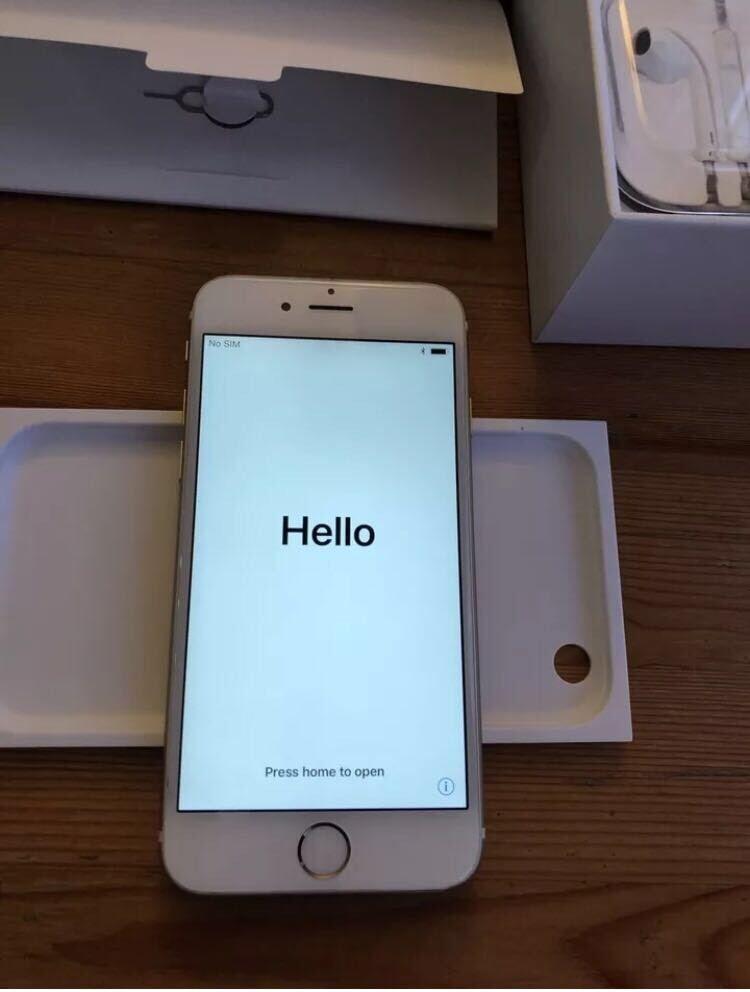 iPhone 6 Gold 16gb O2/giffgaff