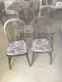 Dining Chairs x4