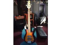 G&L L2500 5 string active / passive bass