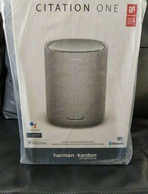 Harman Kardon Citation One Smart Speaker BRAND NEW Google/Airplay. RRP £179