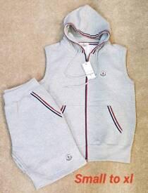 Short and vest set