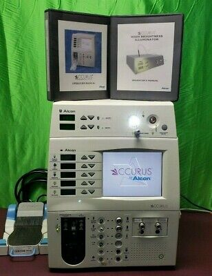Alcon Surgical 800cs Ccurus Ophthalmic Pachoemulsifier Light Source Foot Switch