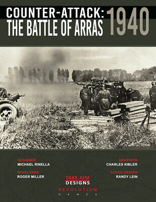 Revolution Wargames Counter-Attack 1940: The Battle of Arras New In Ziploc ](Revolution Game)
