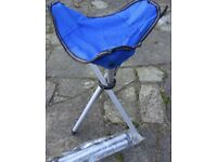 Pair of folding picnic/camping seats - £3.00