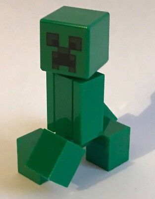 LEGO MINECRAFT CREEPER minifigure from 21138 brand new