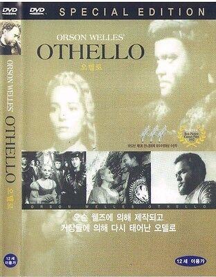 Othello (1952) DVD / Orson Welles, Micheál MacLiammóir / Brand New & Sealed