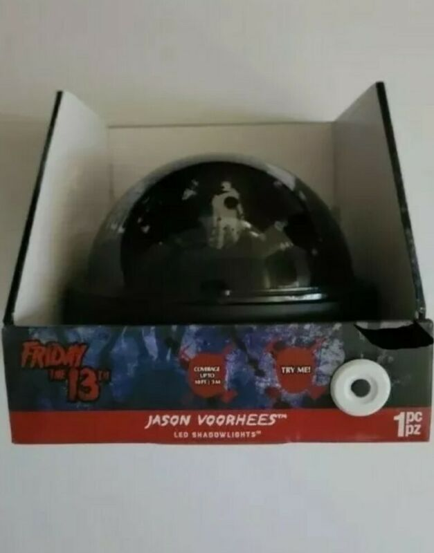 Friday the 13th LED Shadowlights Projector. Brand New Ships from USA