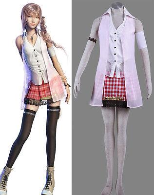 FF-XIII Final Fantasy FF XIII 13 Cosplay Kostüm costume Serah Farron full - Serah Cosplay Kostüm