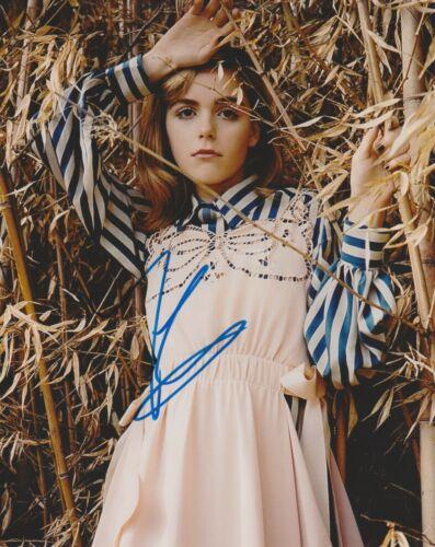 Kiernan Shipka Chilling Adventures Sabrina Autographed Signed 8x10 Photo COA