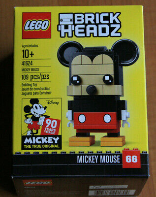 Lego Disney BrickHeadz Mickey Mouse 41624. New in sealed box. Retired 109 pieces