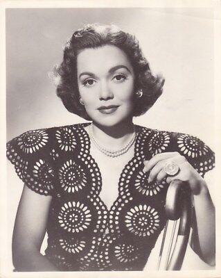 JANE WYMAN Original Vintage 1940s Warner Bros. Studio DBW Portrait Photo