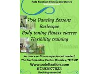 Fun and friendly pole dancing lessons
