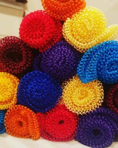 "African Exfoliating Net Sponge 40"" Long"