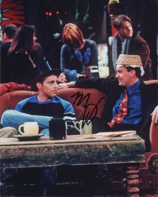 Matthew Perry Friends Autographed Signed 8x10 Photo COA