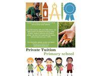 Primary tuition/Private tutor