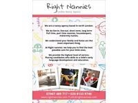 Nanny agency welcoming family enquiries. Nannies, housekeepers, maternity nurses awaiting placements