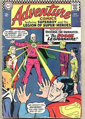 Adventure Comics #349-1966 gd+ Legion of Super-Heroes / Superboy