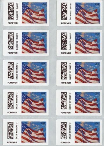 50 Brand New Unused USPS Forever Postage Stamps ~ No Expiration