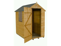 New shiplap 4x6 apex shed