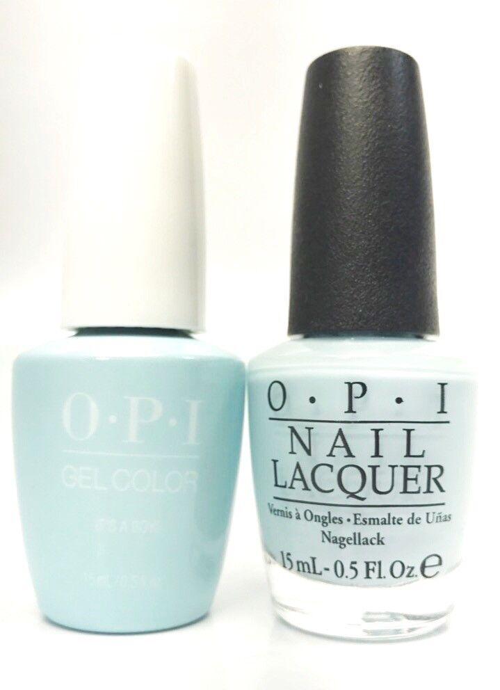 Details About Opi Soak Off Gelcolor Gel Polish Nail Polish It S A Boy T75