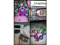 Mix items electronic toys, accessories, activitie packs, games