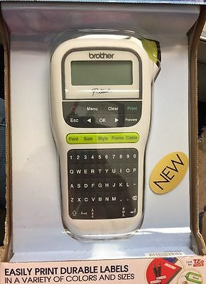 New Brother P-touch Pt-h110 Easy Portable Label Maker Pth110 Labeler