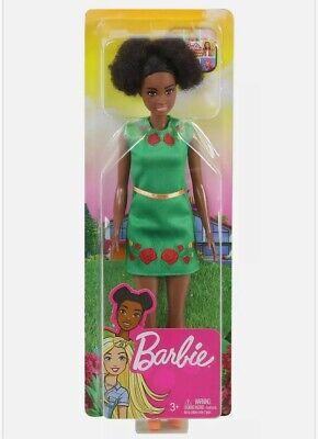 "Barbie® Dreamhouse Adventures NIKKI DOLL (Brunette, 11.5"", Green Dress)"