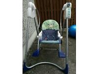 Fisher Price 3 in 1 Swing, Rocker & Seat
