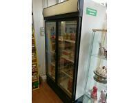 Unbranded double door fridge
