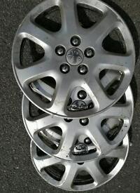 "Peugeot 17"" trims"