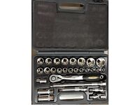 New Sealey professional socket set( not snap on ) 1/2 inch BMW Audi Vw ford vauxhall rachet