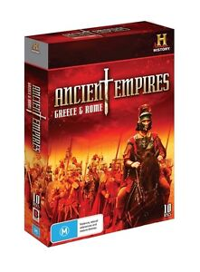 Ancient Empires: Greece and Rome • DVD • NEW • R4 • PAL