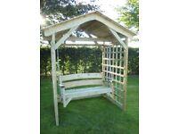 Handmade in the U.K. Bespoke Garden Furniture