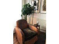 Vintage Cigar Club Armchair