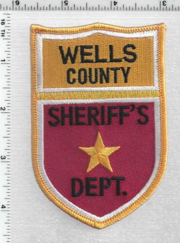 Wells County Sheriff (North Dakota) 1st Issue Shoulder Patch
