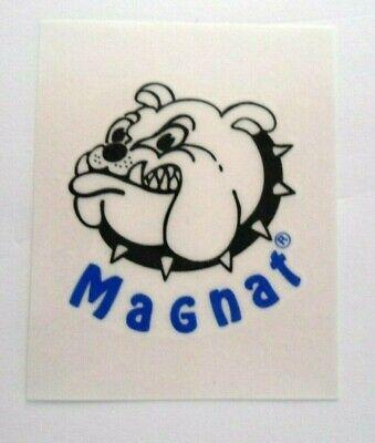 Adhesivo para Coche Magnat Bulldog 4x5 CM Altavoz Coche Audio Hifi Antiguo...