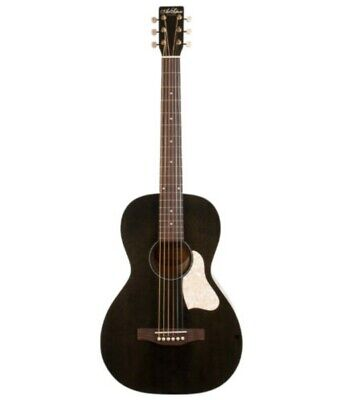 Art Lutherie Roadhouse Acoustic-Electric Parlor Guitar - Faded Black, Gently Used